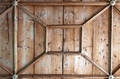 Detail of Wooden Ceiling — Foto Stock