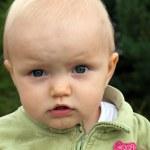Cute Baby Outdoor — Stock Photo