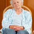 Portrait of Sad Senior Woman — Stock Photo #7398894
