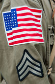 American Uniform — Stock Photo