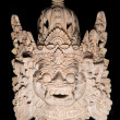 Traditional Balinese Mask - Stock Photo