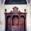 Stock Photo: Old Wooden Confessional