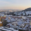 Panorama of Prague — Stockfoto