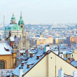Prague in Winter Time — Stock Photo
