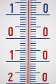Detail of Thermometer — Stock Photo
