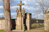 Cemetery Entrance — Stock Photo