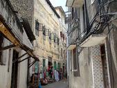 Улица в каменный город в Занзибаре — Стоковое фото