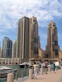 Seafront Promenade in Dubai — Stock Photo