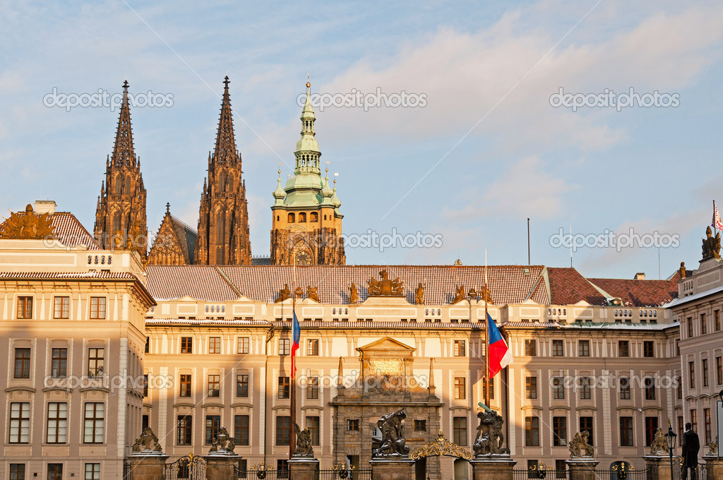 布拉格城堡 — 图库照片