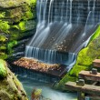 Dam in an Nature — Stock Photo