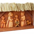 Stock Photo: Wooden Nativity Scene