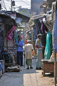 Slum in India — Stock Photo