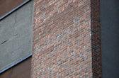The orange bricks and the walls — Stock Photo