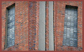 The bricks and the windows and the walls — Stock Photo