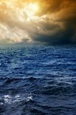 Stormy sea — Stock Photo