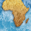 Stock Photo: Drought in Africa