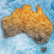 Drought in Australia - Stock Photo