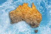 Drought in Australia — Stock Photo