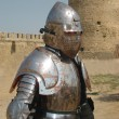 Medieval Knight.Portrait 2. — Stock Photo