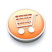 Shopping icon — Stock Photo