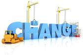Změna — Stock fotografie
