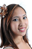 Beautiful Smiling Girl — Stock Photo