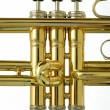 Valves of Trumpet - Stock Photo