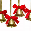 Stock Photo: Christmas bells quartet