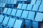 Blue Seats — Stock Photo
