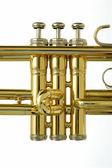 Valves of Trumpet — Stock Photo