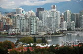 Downtown Vancouver — Stock Photo