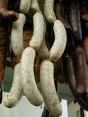 White sausage — Stock Photo