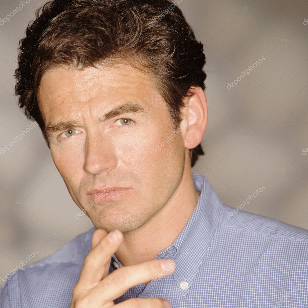 Pensive man — Stock Photo #7028342