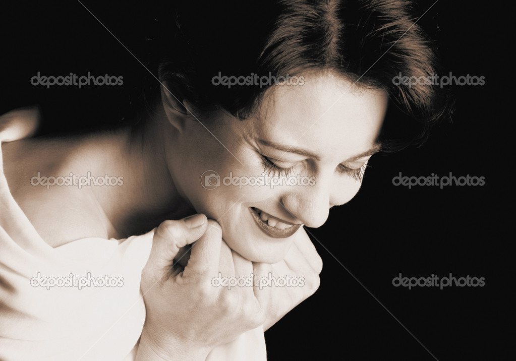 Laughing woman — Stock Photo #7028464