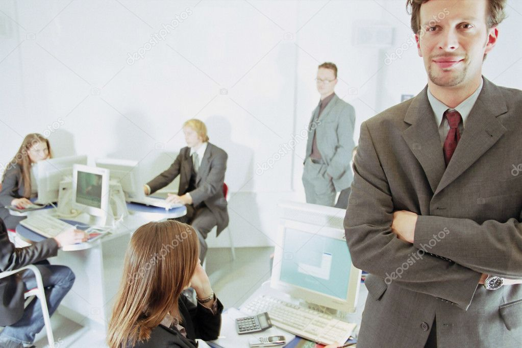 In office — Stock Photo #7028553