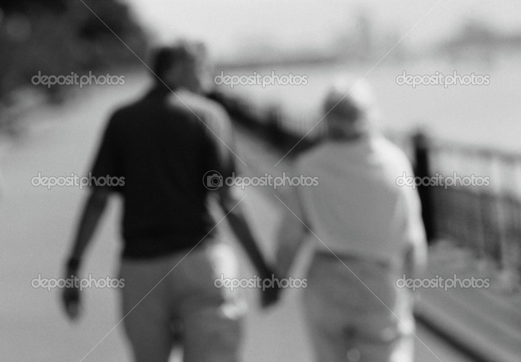 Couple outdoors  Stock Photo #7029379