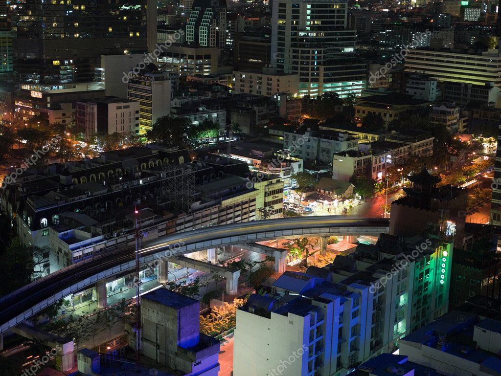 Bangkok at night — Foto Stock #7034034