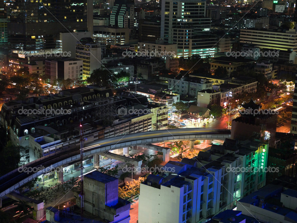 Bangkok at night  Stockfoto #7034034