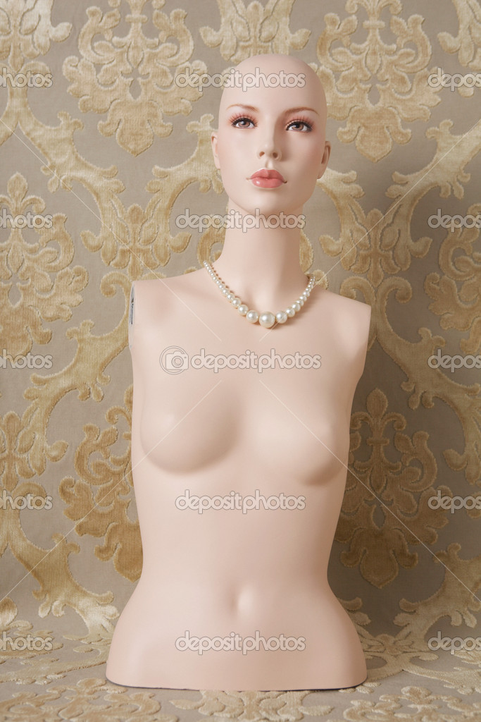 Torso of a female mannequin  Stock Photo #7038402