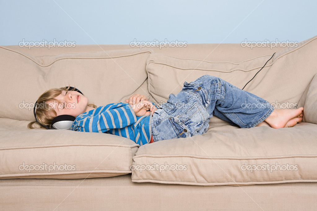 A boy asleep  Stock Photo #7038630