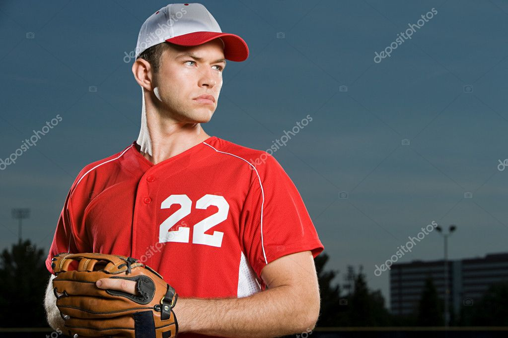 Baseball player  Stock Photo #7040619