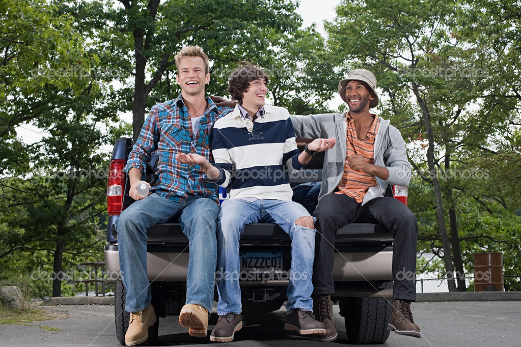 Friends on a road trip  Stock Photo #7044806