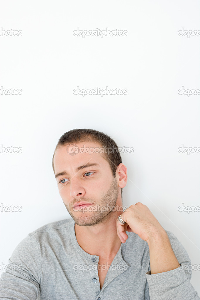 Pensive young man — Stock Photo #7044971