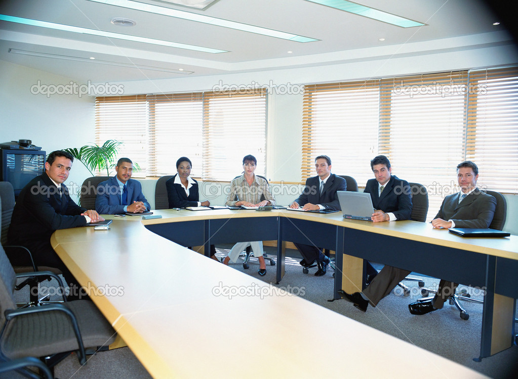 Boardroom meeting — Stockfoto #7048390