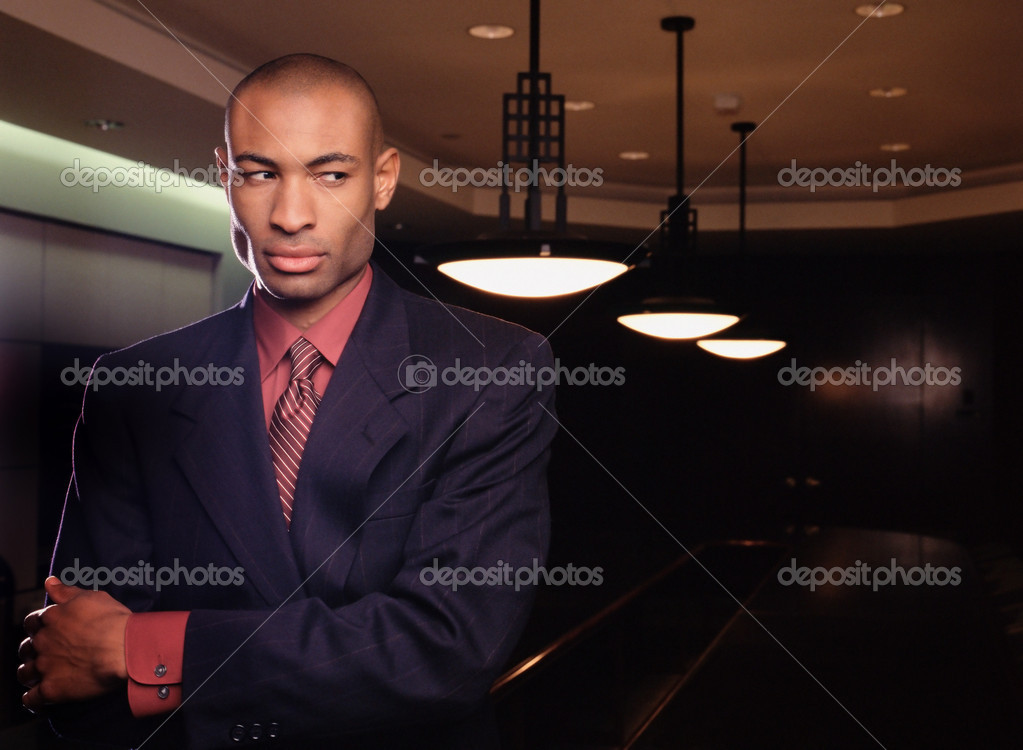 Businessman in conference room  Stock Photo #7048781