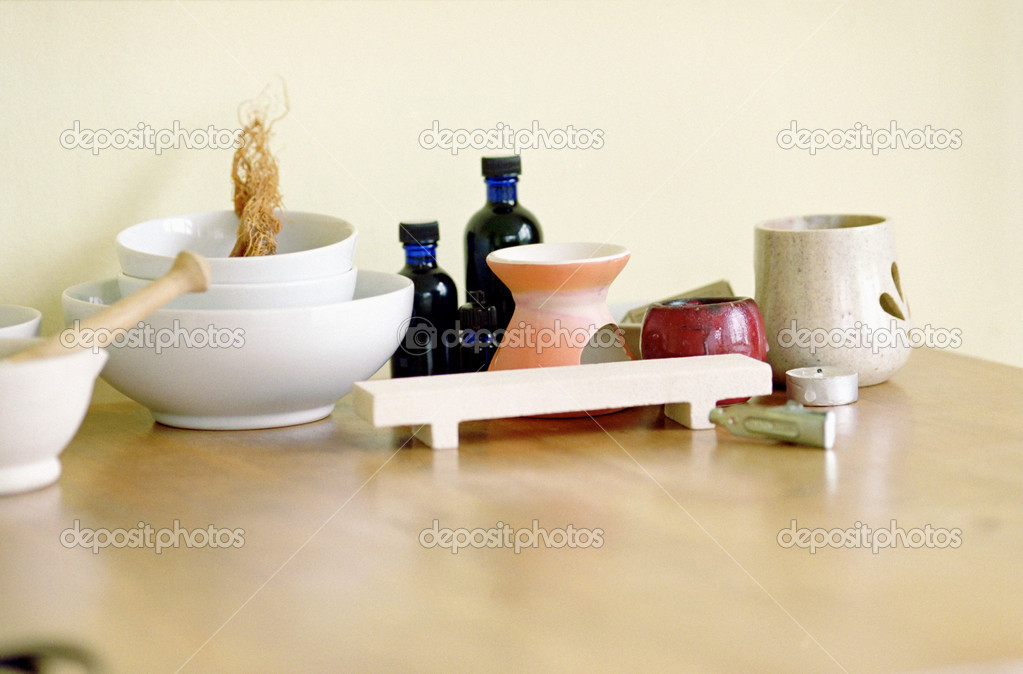 Aromatherapy items — Stock Photo #7050801
