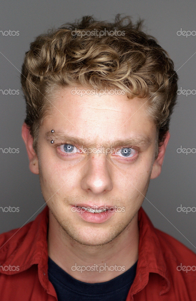 Portrait of a young man — Stock Photo #7066772