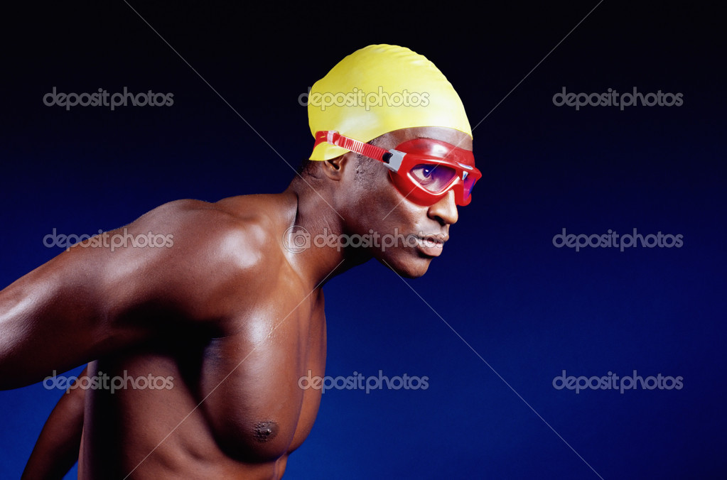 Male swimmer — Stock Photo #7069823