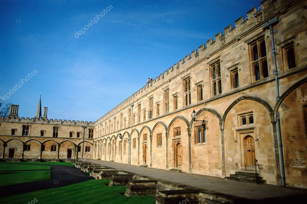 Courtyard of building — Stock Photo #7072638