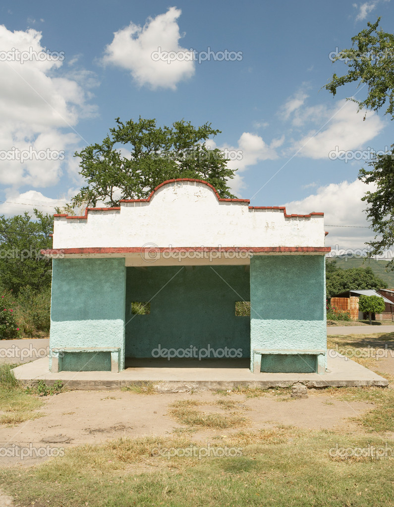 Shelter in santo tomas — Stock Photo #7072808